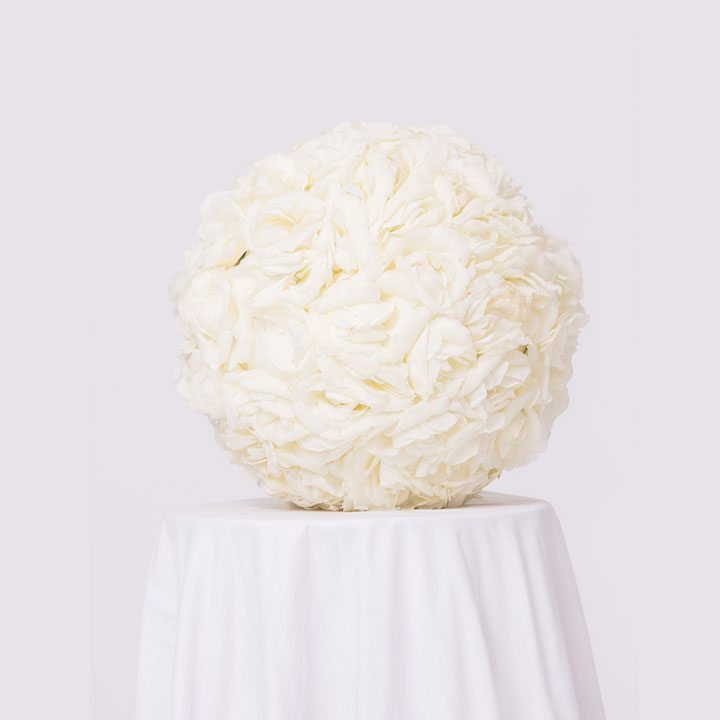 Ivory Centerpiece On Event Rent