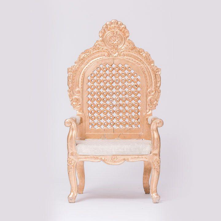 Golden Jodha Akbar Chair