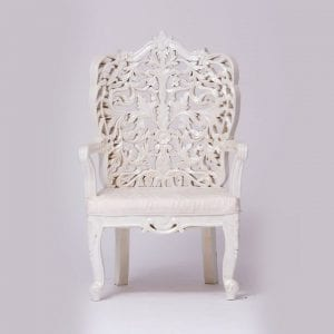 White Delazio Chairs