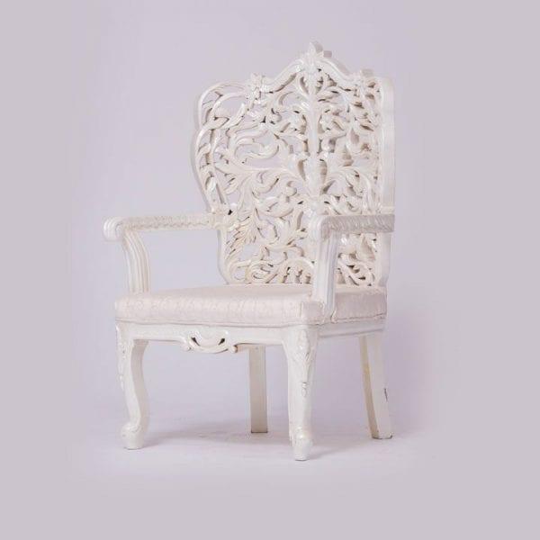 White Delazio Chairs