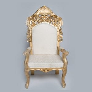 Gold Outline Wedding Chair