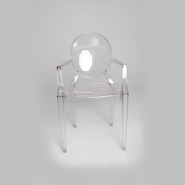 A Small Size White Plastic