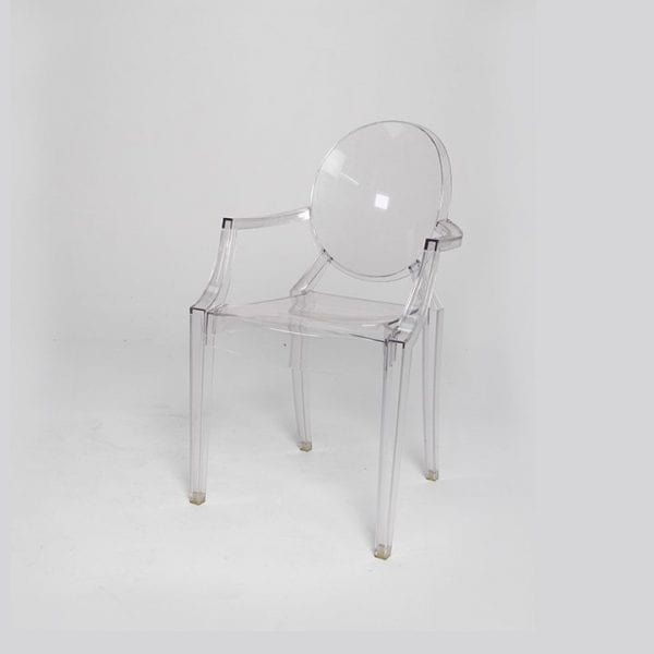 A White Plastic Chair