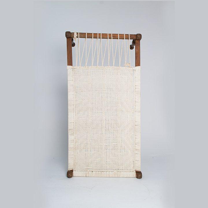 A Standing Wooden cot khatiya