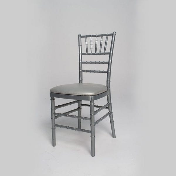 Greywash with white-finish Chair