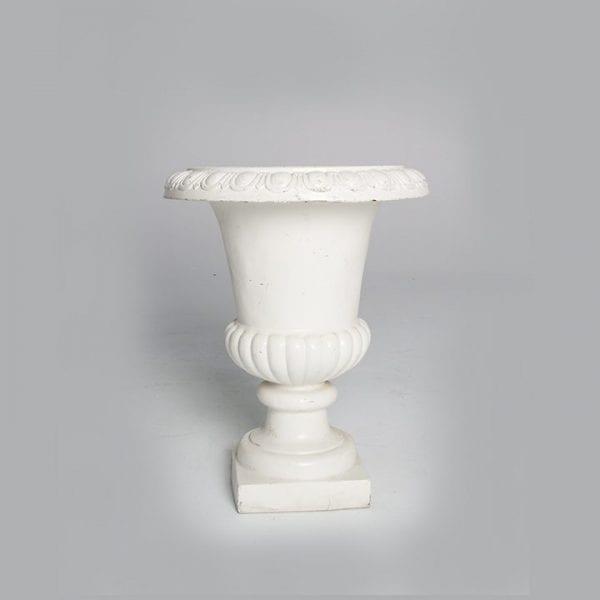 Heavy Cement Fountain Vase