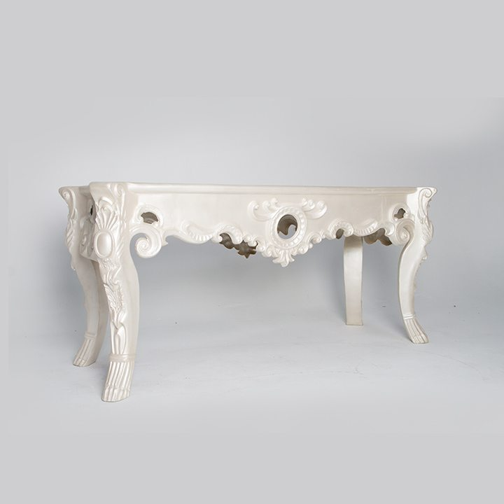 Designer White High Table