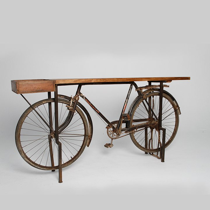 A Modern Bicyle Look Table