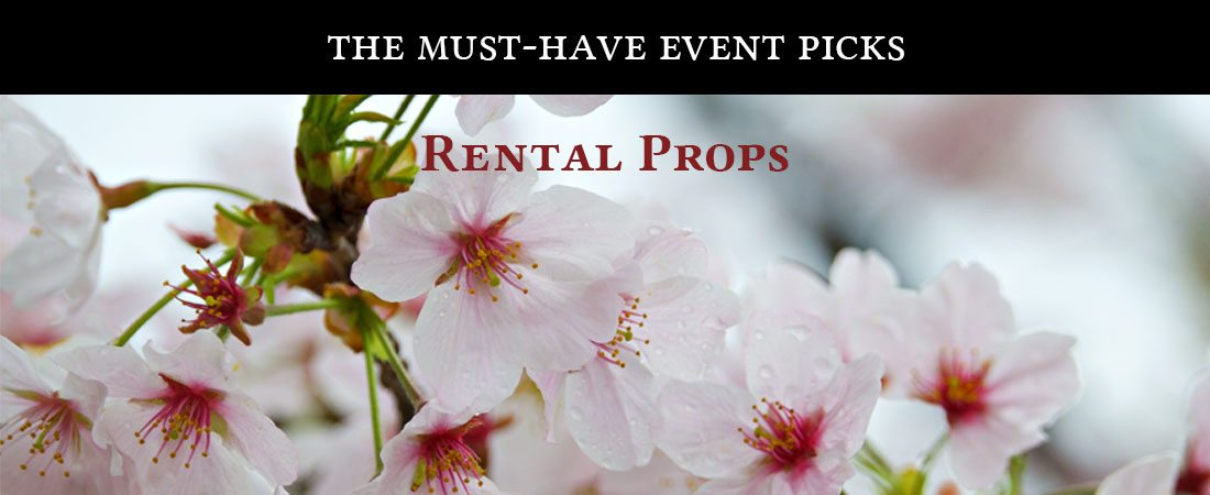 The Must-Have Event Picks: Rental Props