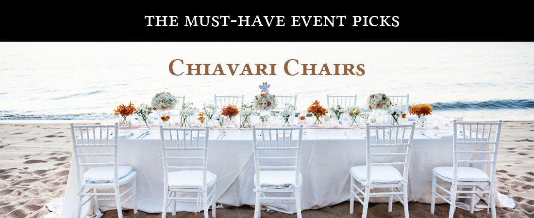 White Chiavari Wedding Chair
