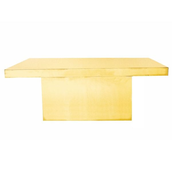 Gold Lux Table Rental