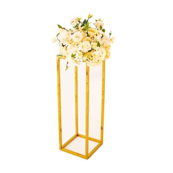 Ivory Flower Arrangement Rental
