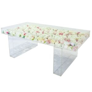 Acrylic Table for Event Rental