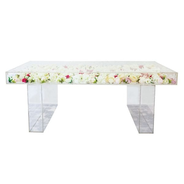 Acrylic Table for Rent