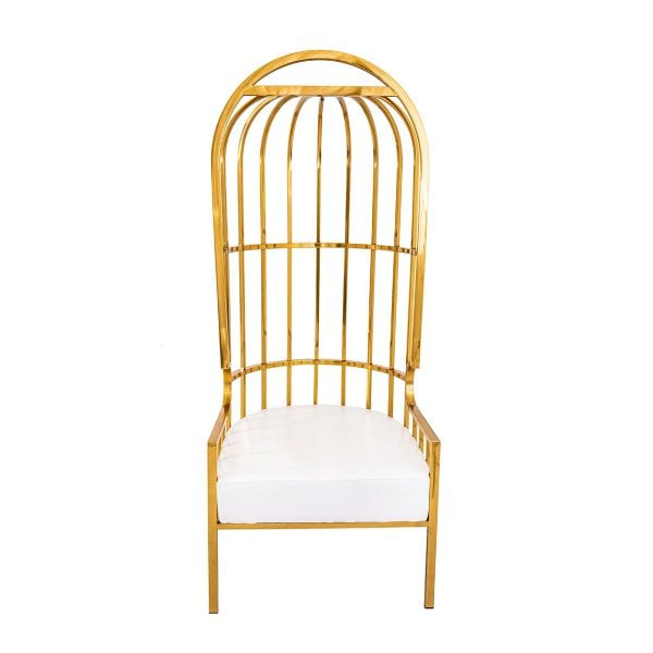 Gold Cage Throne Rental