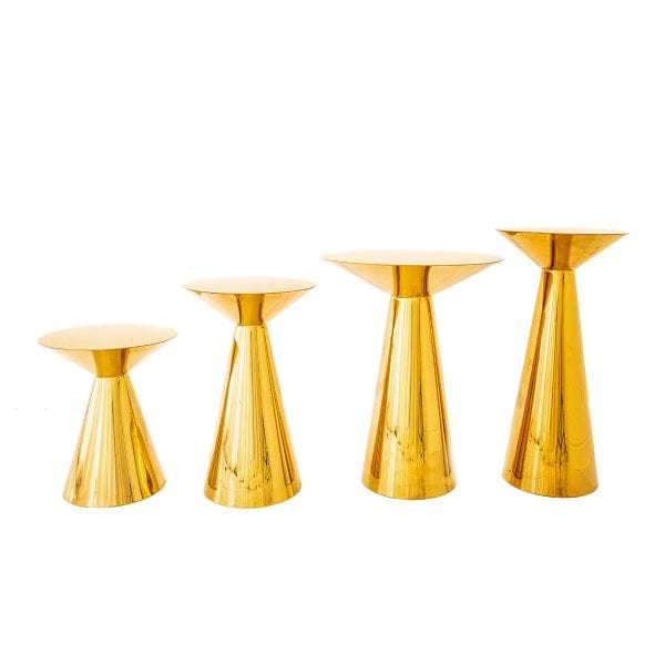 Golden Plinths Rental