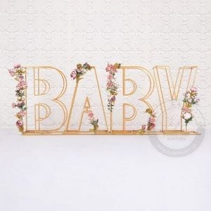 Baby Letters, baby shower