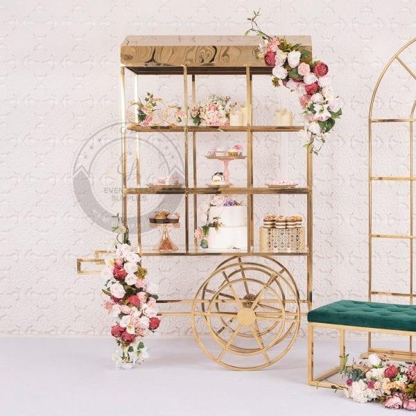Dessert cart, wedding, bridal shower, baby shower