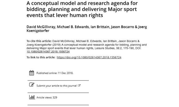 EventRights consortium publish paper: progressive human rights outcomes in the context of MSE's