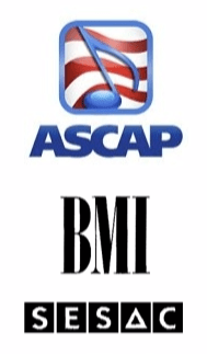 ASCAP vs BMI vs SESAC