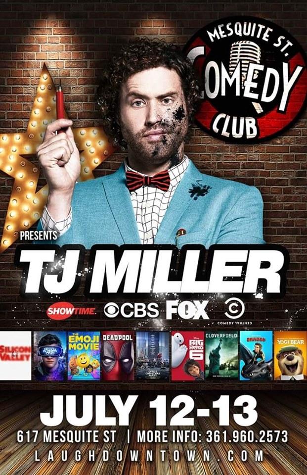 Comedy Club Corpus Christi : comedy, corpus, christi, Comedian/Actor, Miller, Mesquite, St.Comedy, Local, Event, Corpus, Christi, CityOf.com