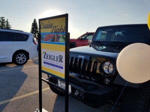 Zeigler New Car Display