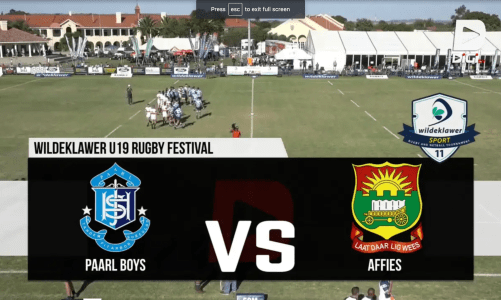 Paarl Boys' High u/19 VS Affies u/19