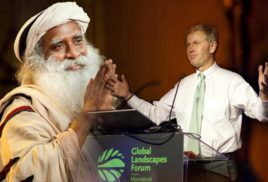 Global Landscapes Forum: Renowned Yogi Sadhguru and UN Environment Executive Director Erik Solheim to discuss campaign to save India's rivers as an example for global action