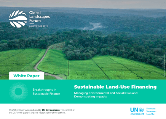 Sustainable Land-Use Financing