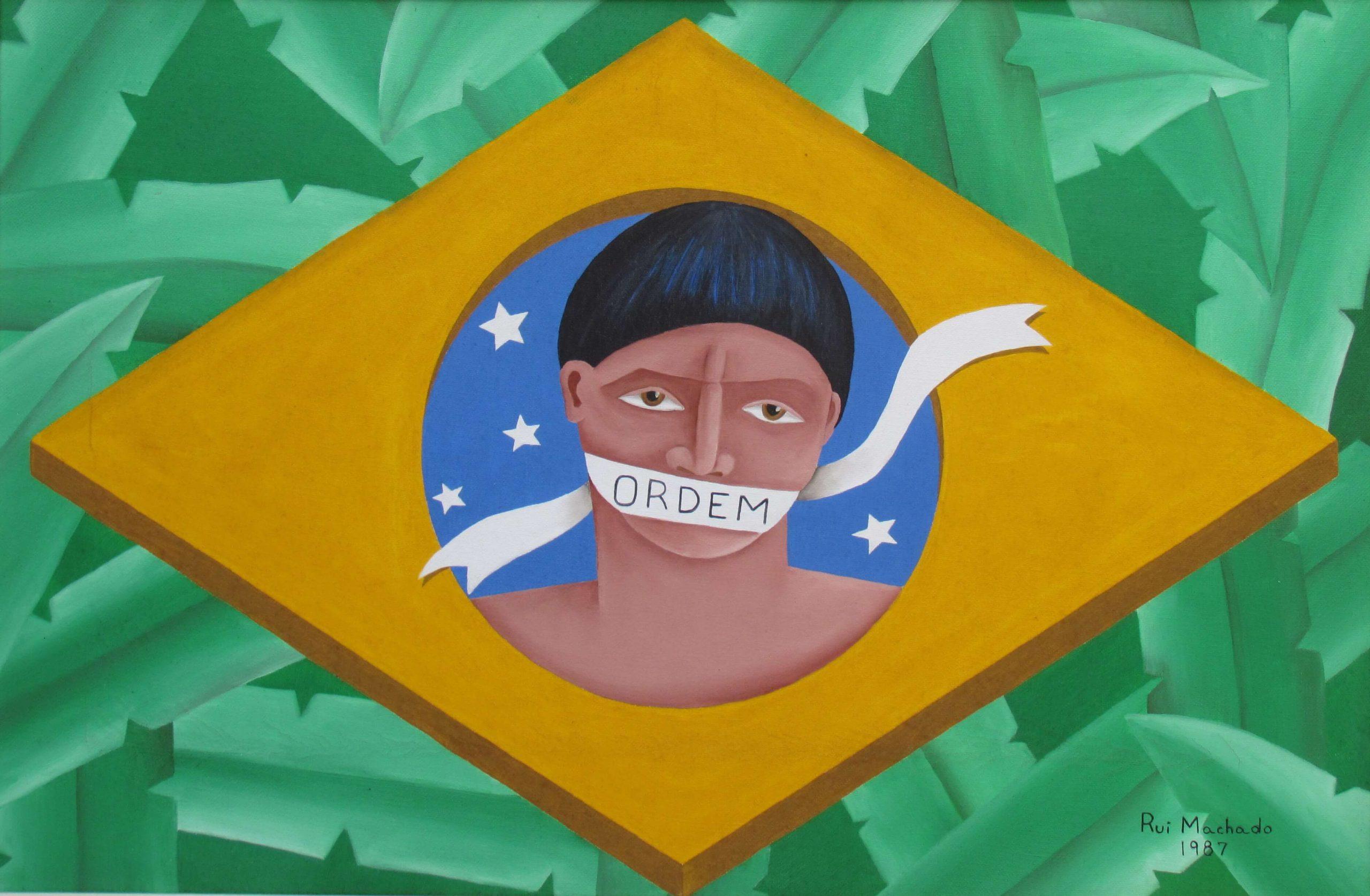 """Constituíndio"", (60 x 40 cm), óleo sobre tela, 1987"