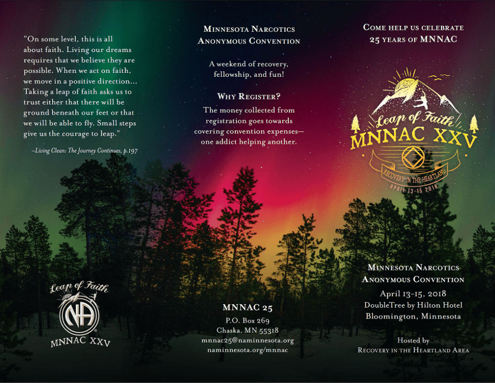MNNAC 25 Registration Flyer