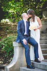 The Spanish Steps are located close to our Washington DC wedding venue and offer more photo opportunities