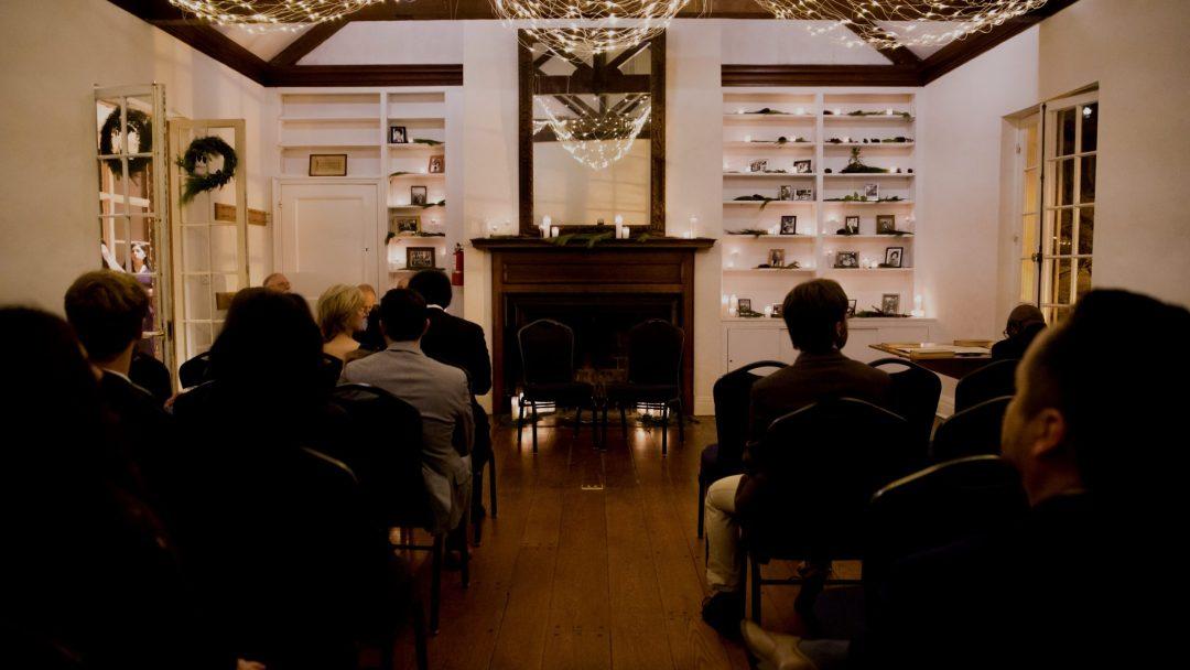 Washington DC Wedding Spaces - Quaker House Living Room