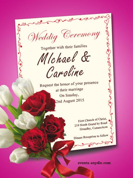 Free Online Wedding Invitation Cards