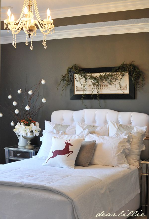 Cozy Christmas Bedroom Decorating Ideas Festival Around