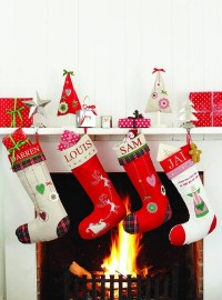 Adorable Christmas Stockings Decoration Ideas - Festival ...