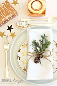 Beautiful Christmas Table Decoration Ideas - Festival ...