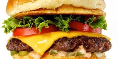 Fuddrucker burger 400x200