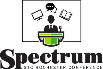Graphic for STC Rochester Spectrum Conference logo
