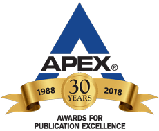 Graphic for the APEX Awards 2018 logo