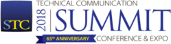 Graphic for STC Summit 2018 65th Anniversary logo