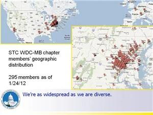 STC WDCB map