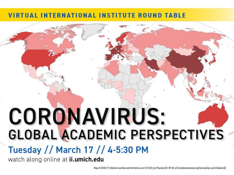 Virtual International Institute Round Table. Coronavirus: Global ...