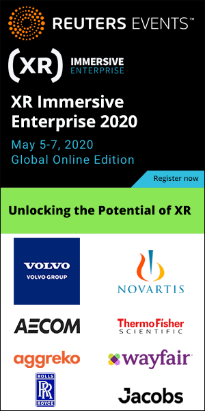 XR Immersive Enterprise 2020 - May 5-6, 2020