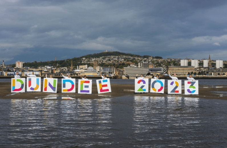 ceremony to send off Dundee's bid to become European Capital of Culture