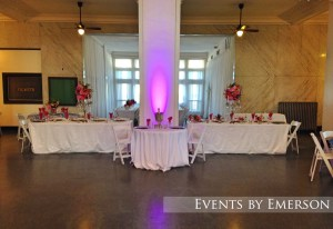 Head and sweetheart tables