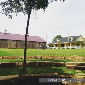 Barn and house