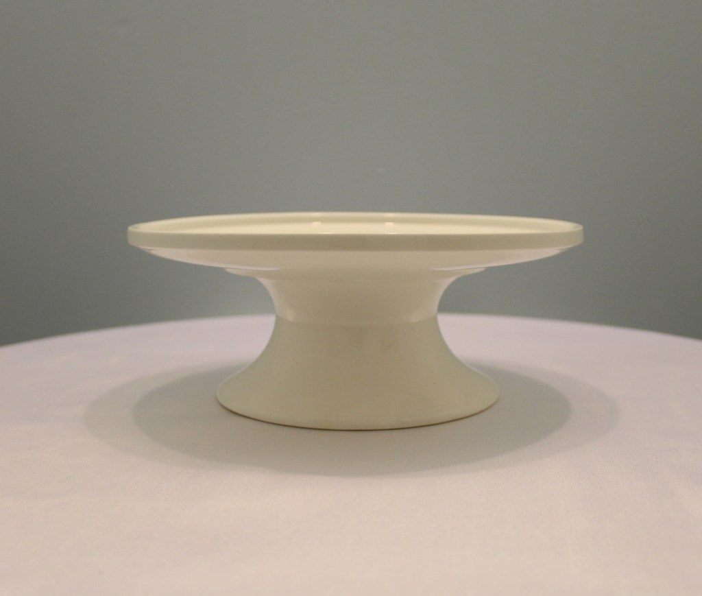 White Porcelain Serving Stand Image