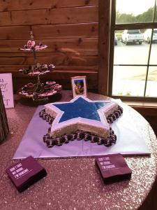 Events by Emerson - Dallas Cowboys inspired Groom's cake