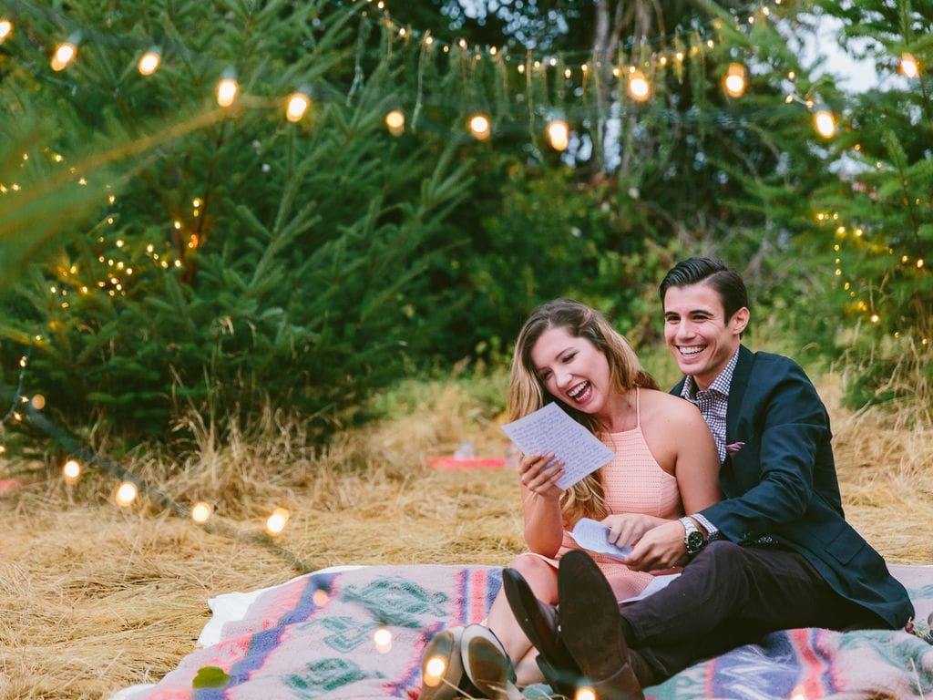 Wedding Proposal Ideas - Write out your speech and have your love read it